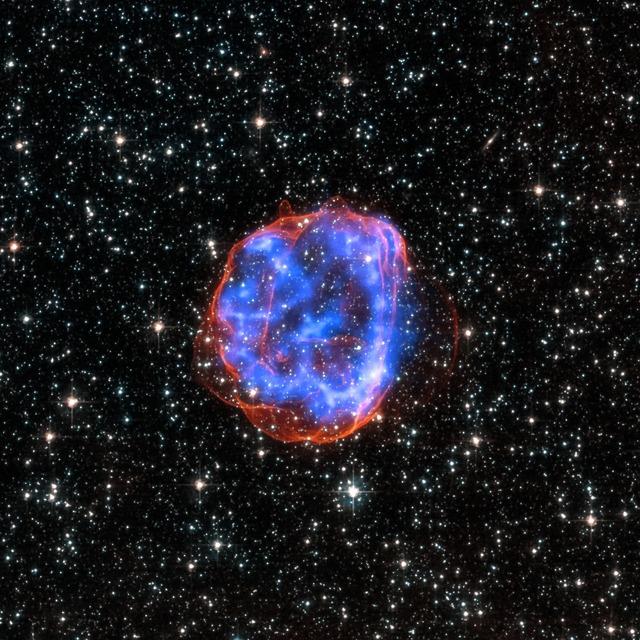 Star debris space cosmos.