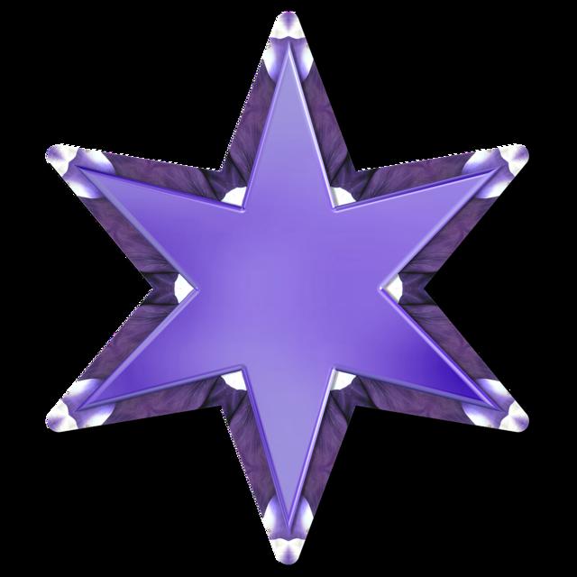 Star scrapbooking embellishment.