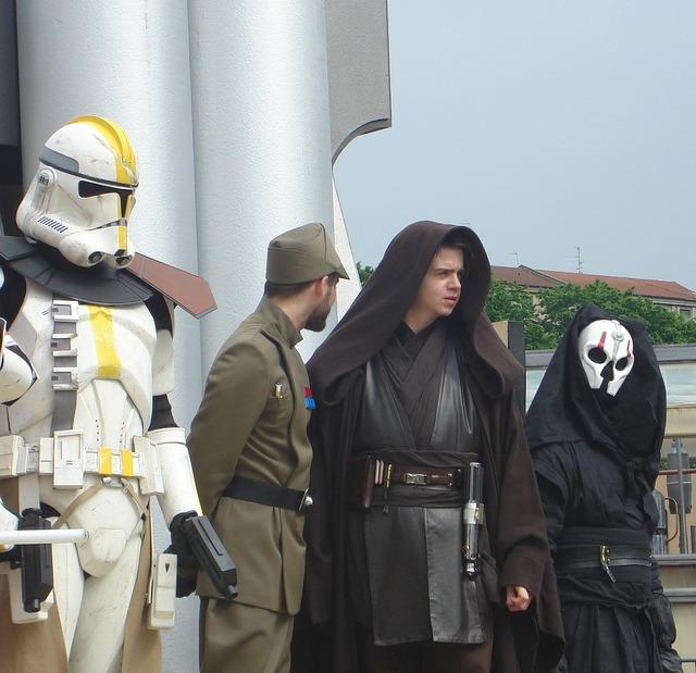 Star wars morals masks.