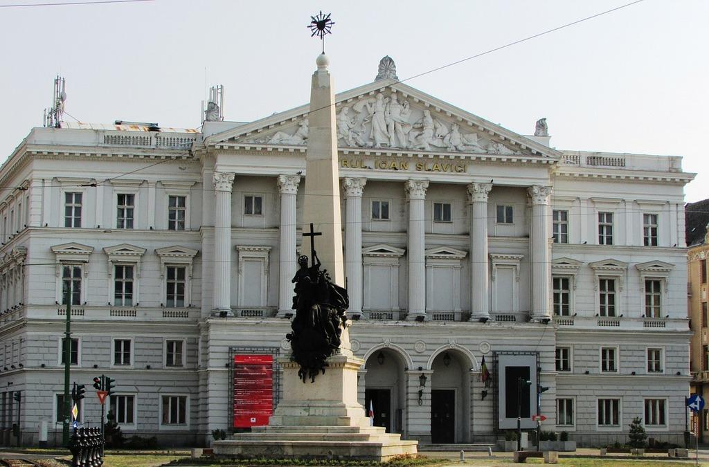 State theatre arad transylvania, architecture buildings.