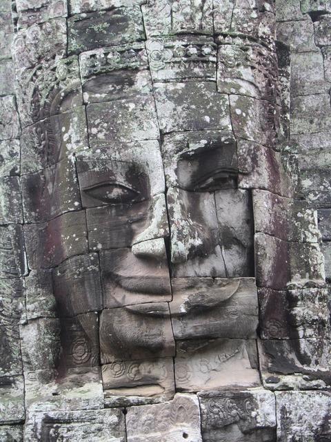 Statue angkor wat angkor, religion.