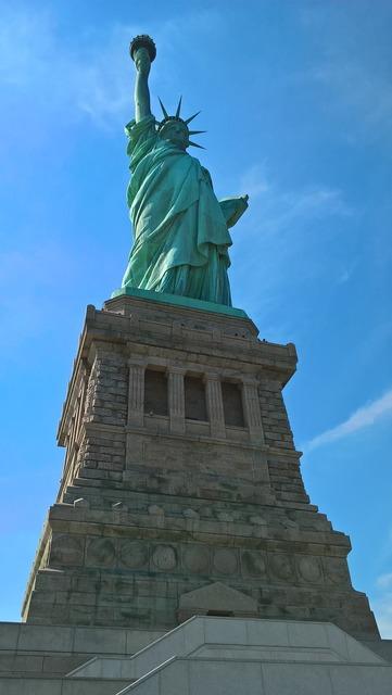 Statue liberty freedom.