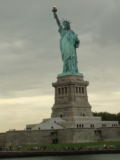 Statue of liberty freedom america, places monuments.
