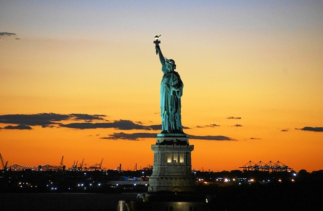 Statue of liberty liberty usa, architecture buildings.