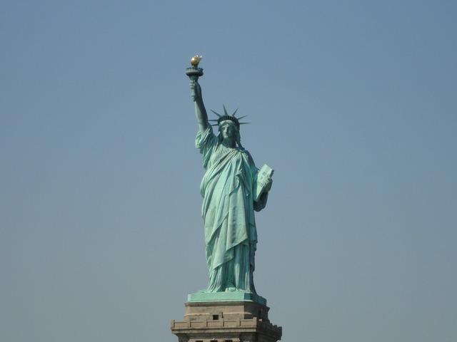 Statue of liberty new york usa.