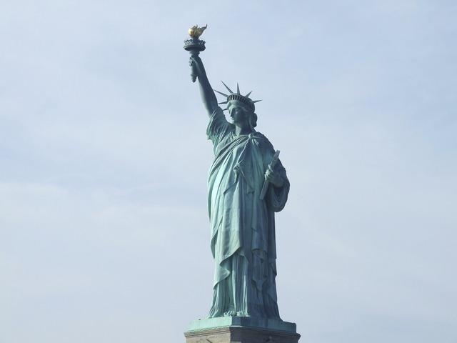 Statue of liberty usa tourism, travel vacation.