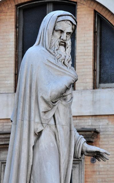 Statue rome italy.