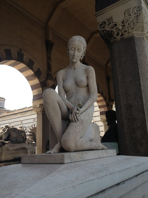Statue sculpture italy, beauty fashion.