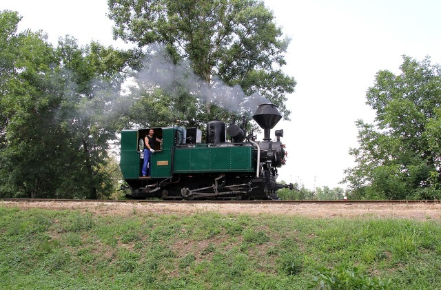 Steam locomotive andras railroad museum nagycenk.