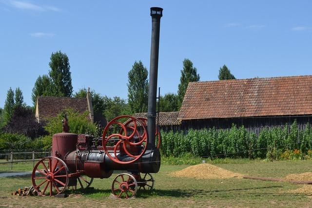 Steam old machine bournat.
