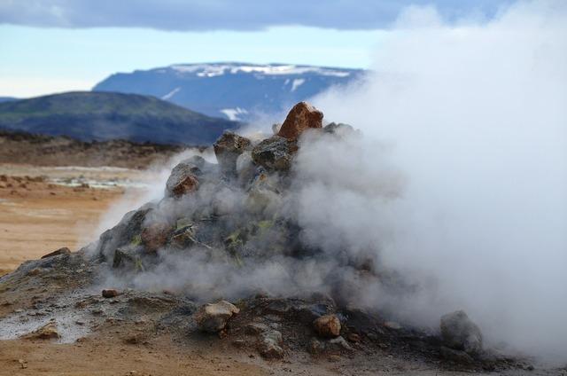 Steam source iceland.