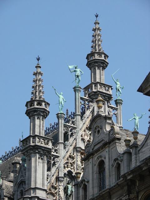 Steeples steeple brussels, architecture buildings.