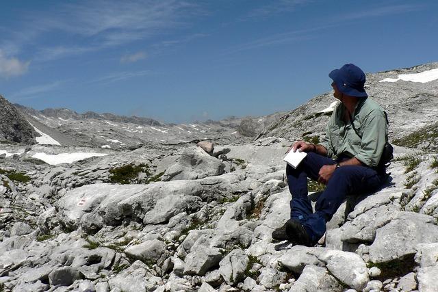 Steinernes meer austria stones, people.