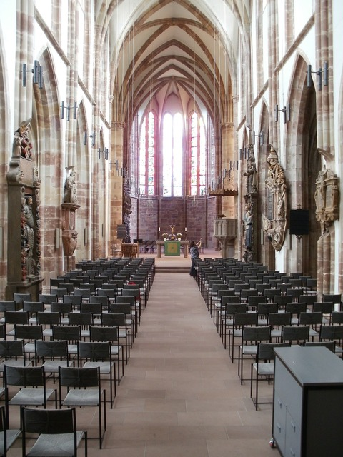 Stiftskirche st arnual interior, religion.