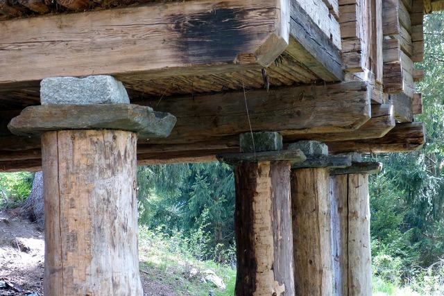Stilt houses celts village memory.