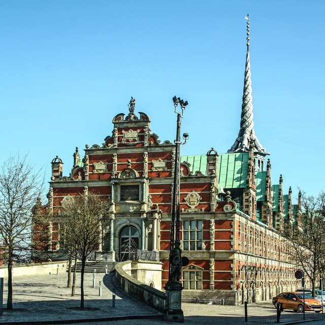 Stock exchange copenhagen places of interest, architecture buildings.