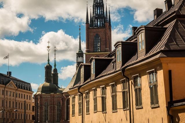 Stockholm sweden cityscape.