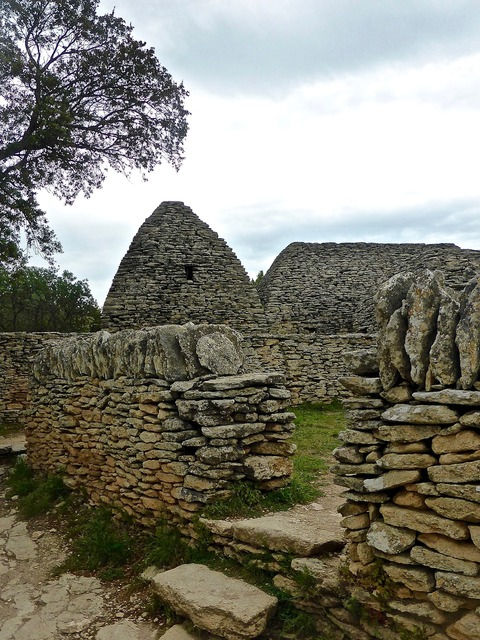 Stone building construction, architecture buildings.