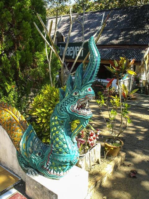Stone figure sculpture dragon, religion.