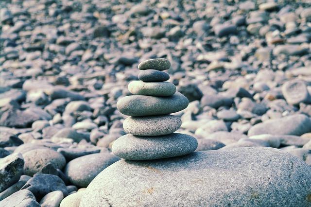 Stone stone tower god, religion.