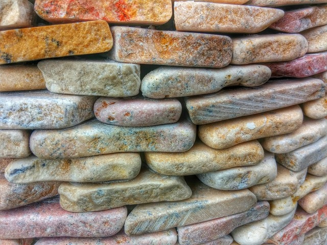 Stone stone wall rustic.