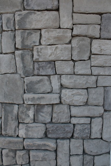 Stone wall blocks, backgrounds textures.