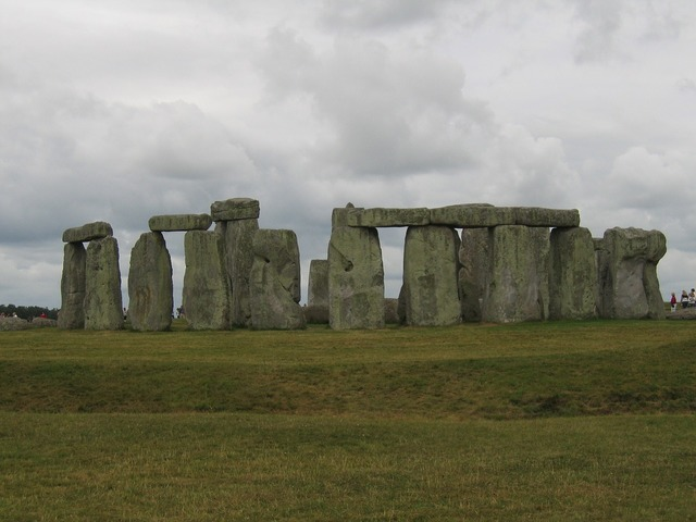 Stonehenge mystical place of worship, architecture buildings.