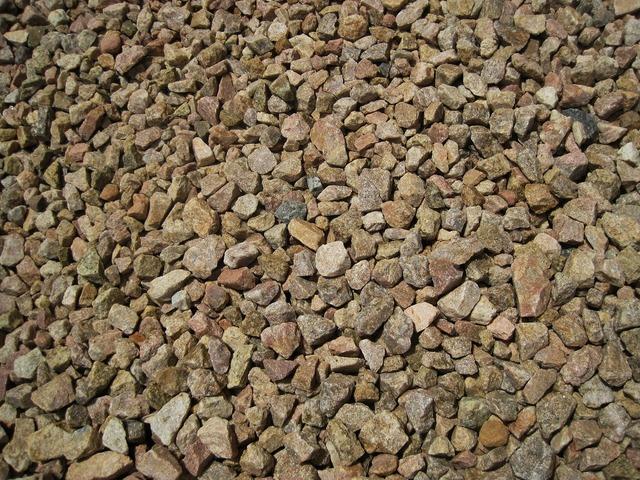 Stones gravel spread, backgrounds textures.