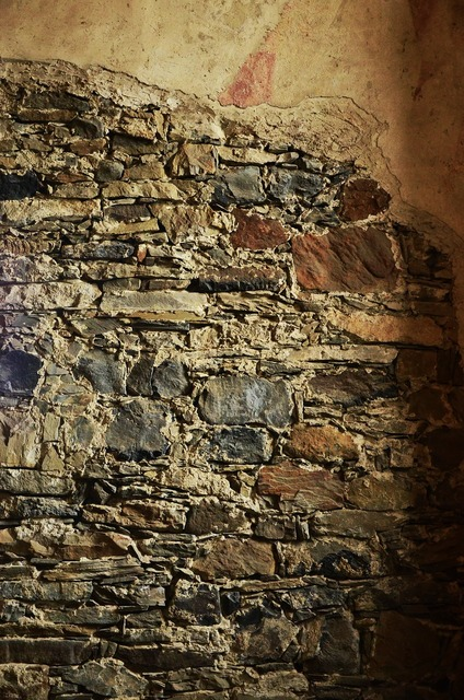 Stones wall masonry, backgrounds textures.