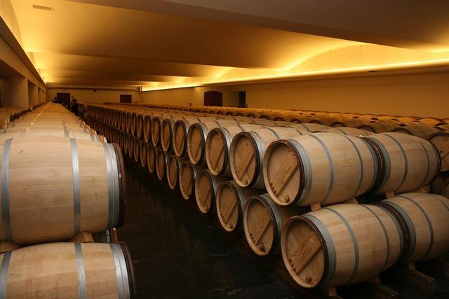 Storage winery france.