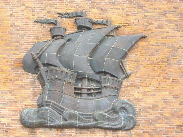 Stralsund hanseatic league ship.