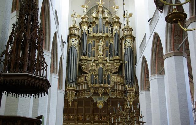 Stralsund the altar church, religion.