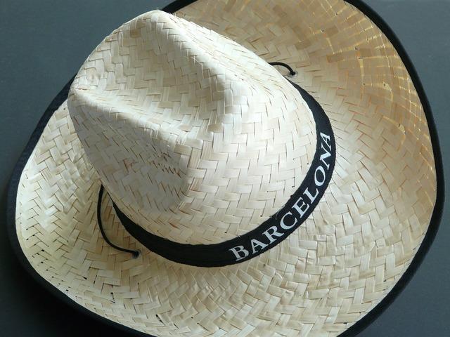 Straw hat hat sun hat.