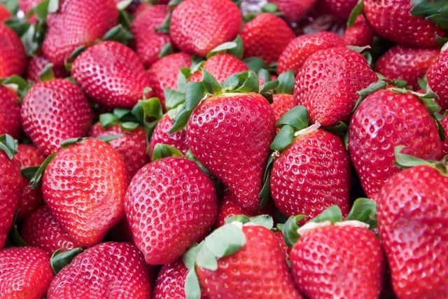 Strawberries fruit healthy, food drink.