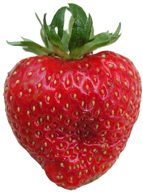 Strawberry tasty frisch, food drink.
