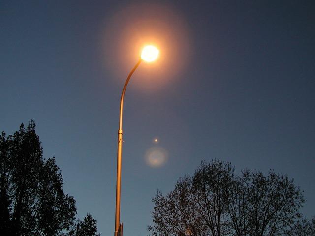 Street lamp lamp light.