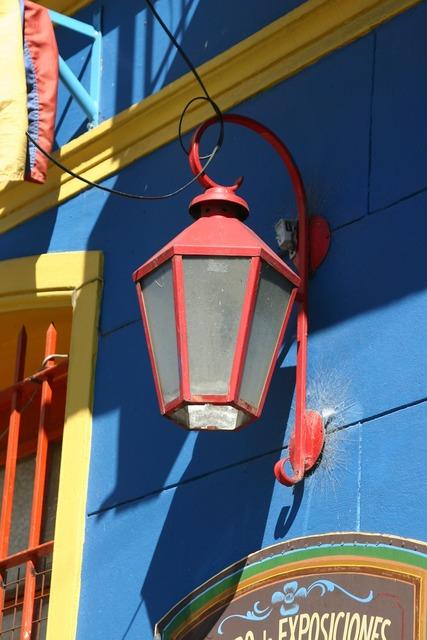 Street lamp lantern argentina, architecture buildings.