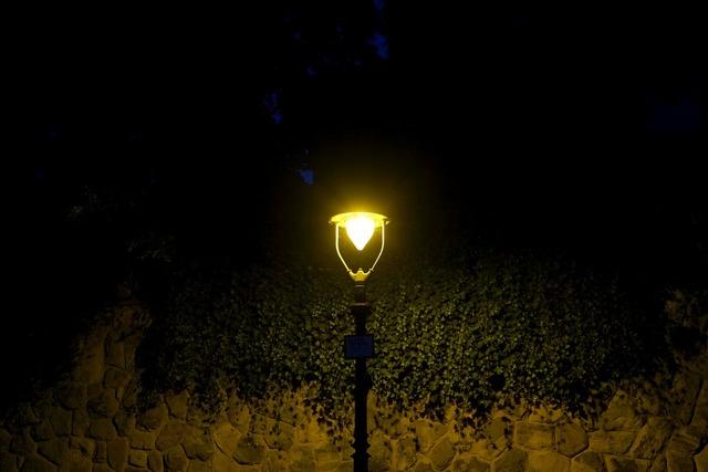 Street light night street lamp, transportation traffic.