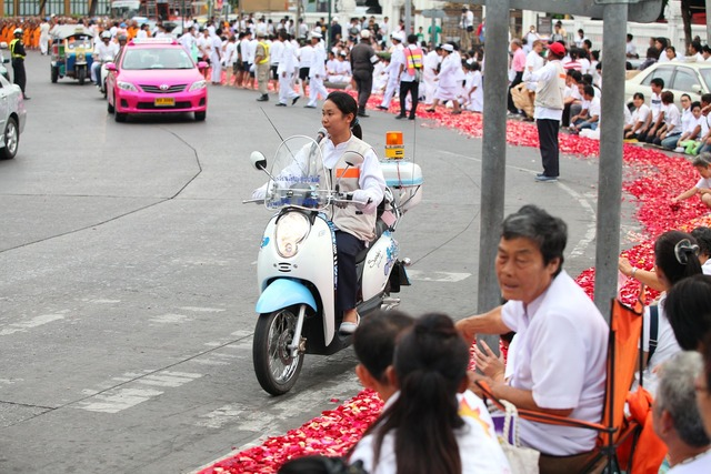 Street police festival, transportation traffic.