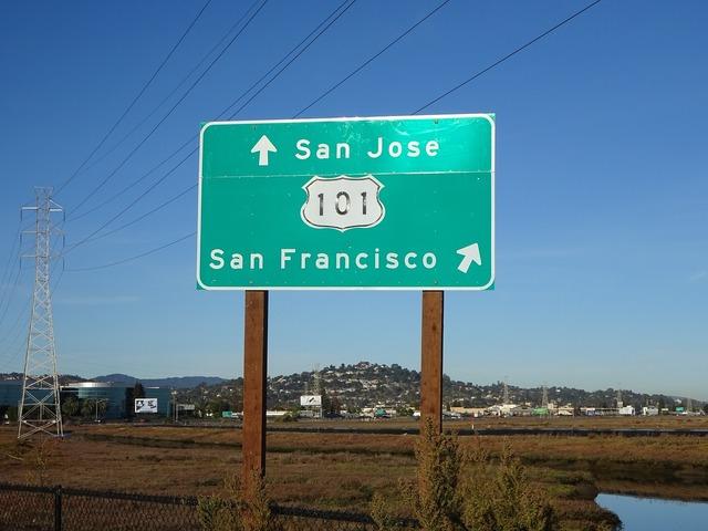 Street sign san francisco usa.