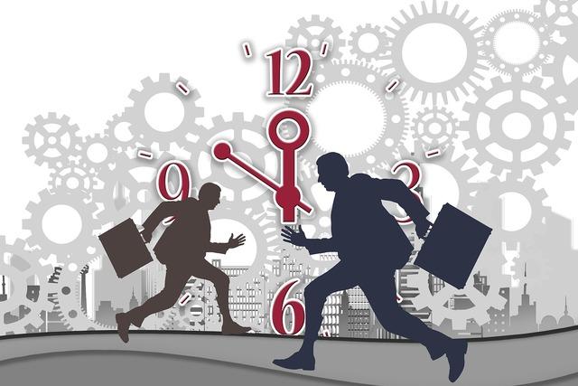 Stress businessmen businessman, architecture buildings.