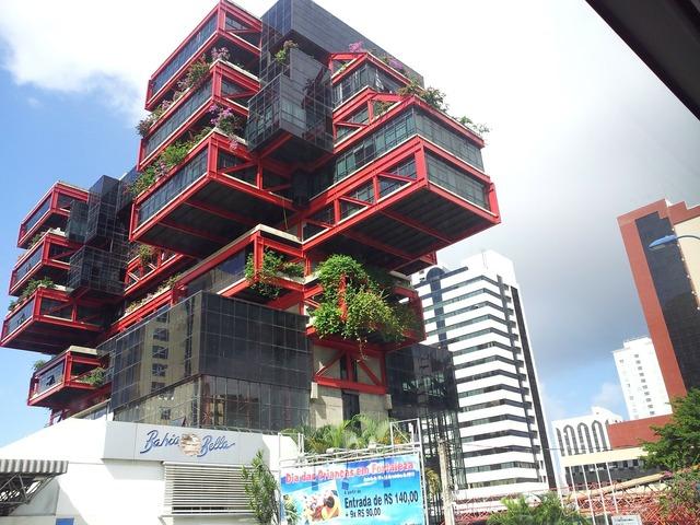 Structure modern architecture 3d, architecture buildings.