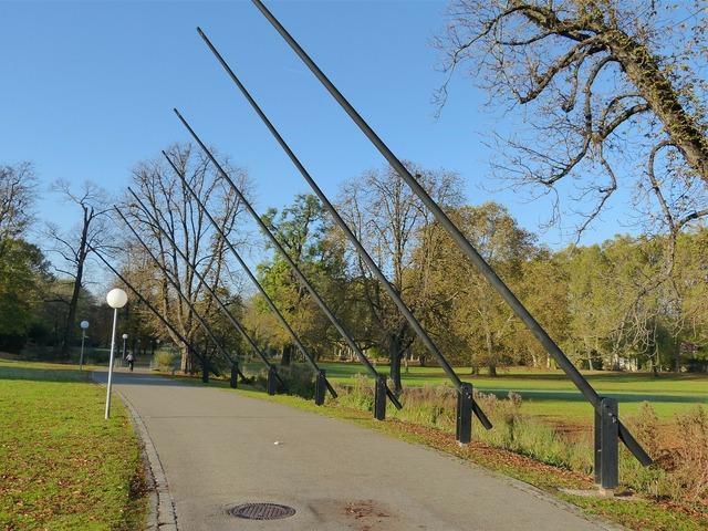 Stuttgart park castle park.