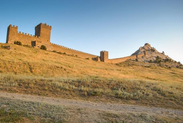 Sudak fortress castle genoa.