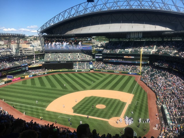 Summer in seattle baseball safeco, sports.