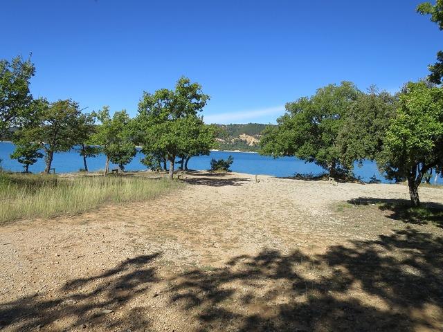 Summer lake holy cross france.