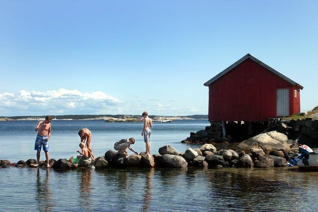 Summer sea idyll.