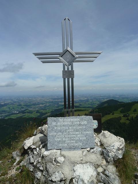 Summit cross summit cross.