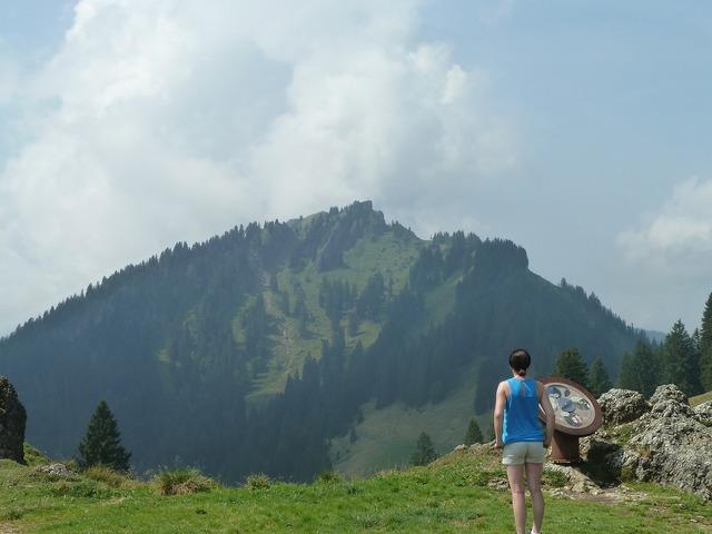 Summit hike hiking, nature landscapes.