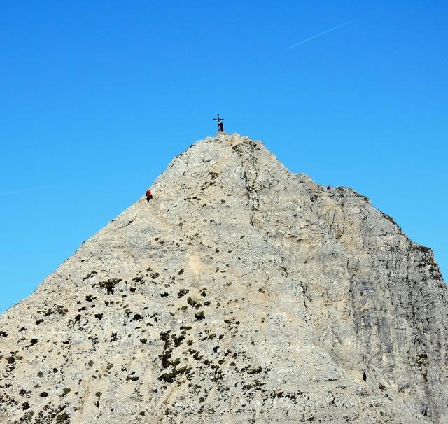 Summit top climbing.